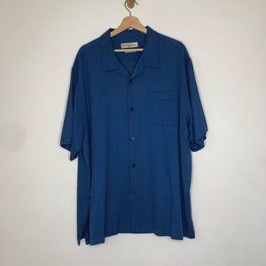 Tommy Bahama 100% silk shirt size XXL